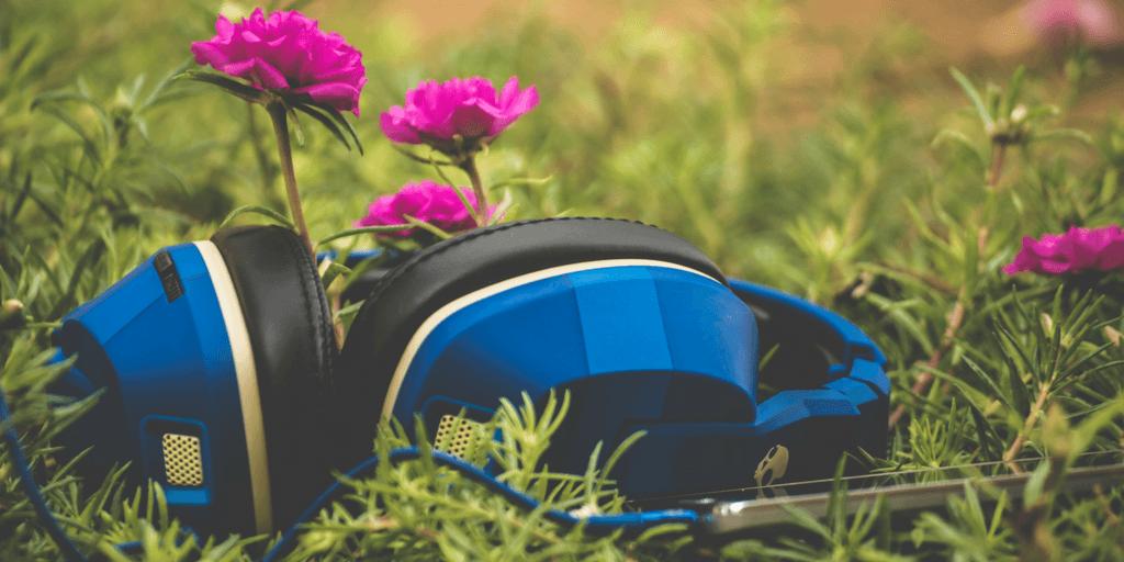 Kopfhörer zum Podcast hören