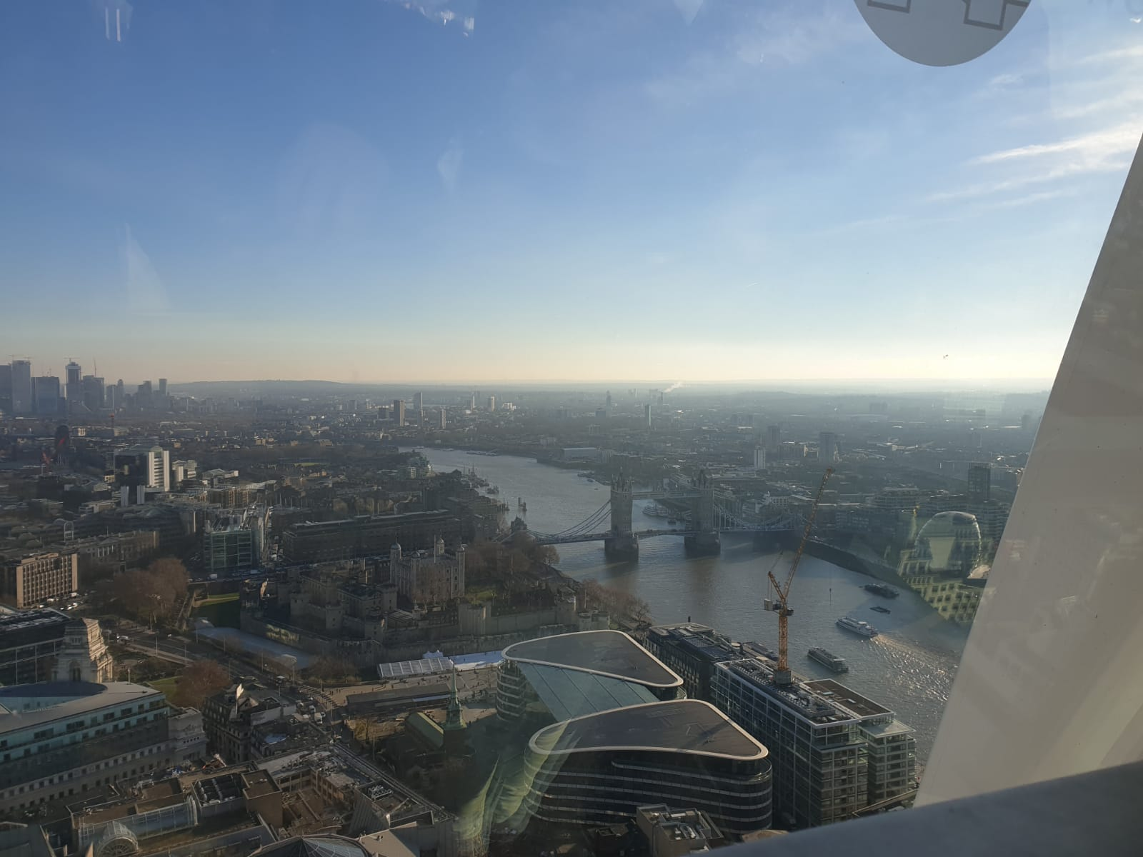 Blick auf die Towerbridge London
