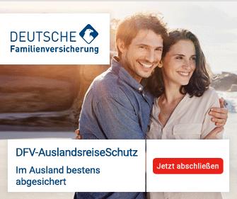 Bei der deutschen Familienversicherung eine Auslandsreisekrankenversicherung abschließen