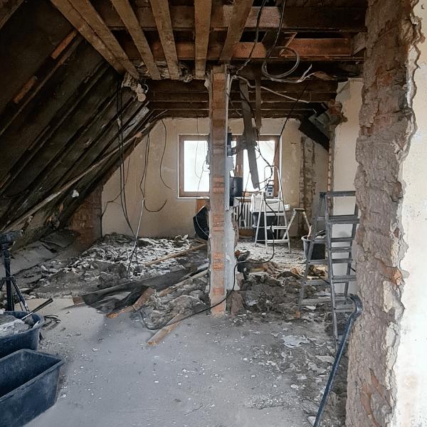 Einfamilienhaus Sanierung Dach